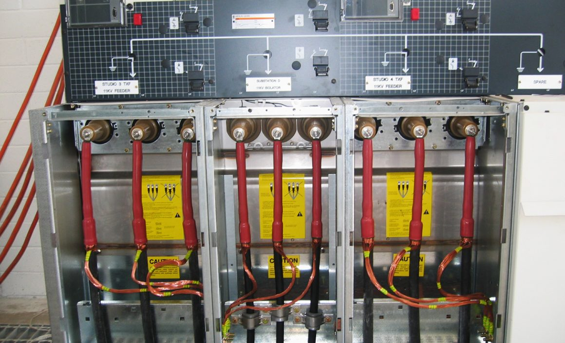 RMU installation & cable terminations