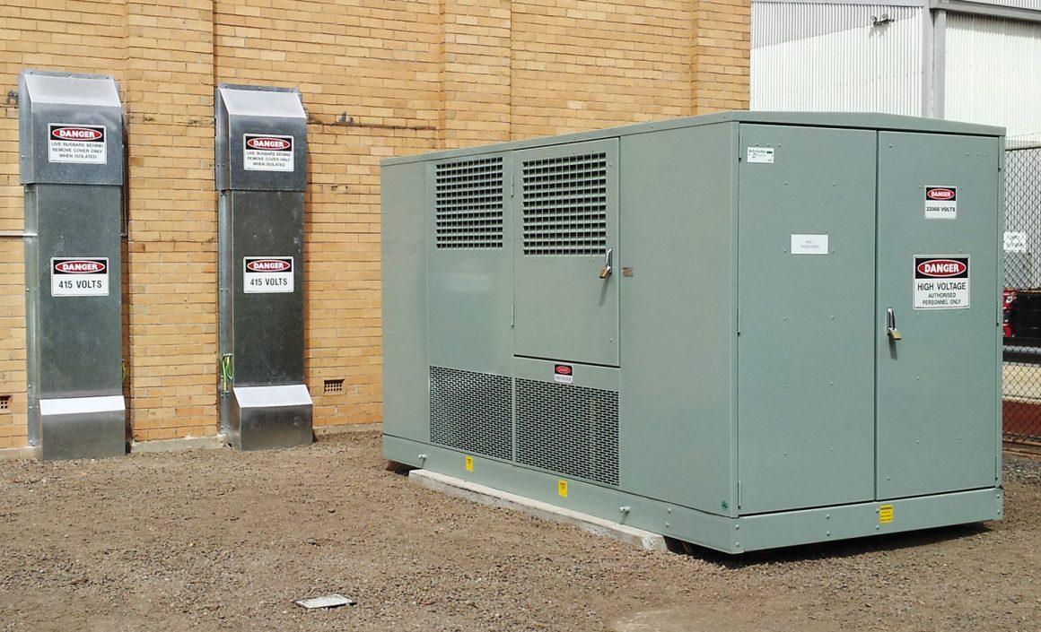 Steel Mains PL - Substation 1 kiosk upgrade