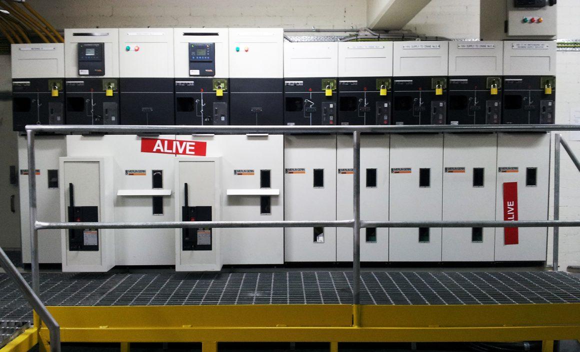 11kV switchgear installation - ESD