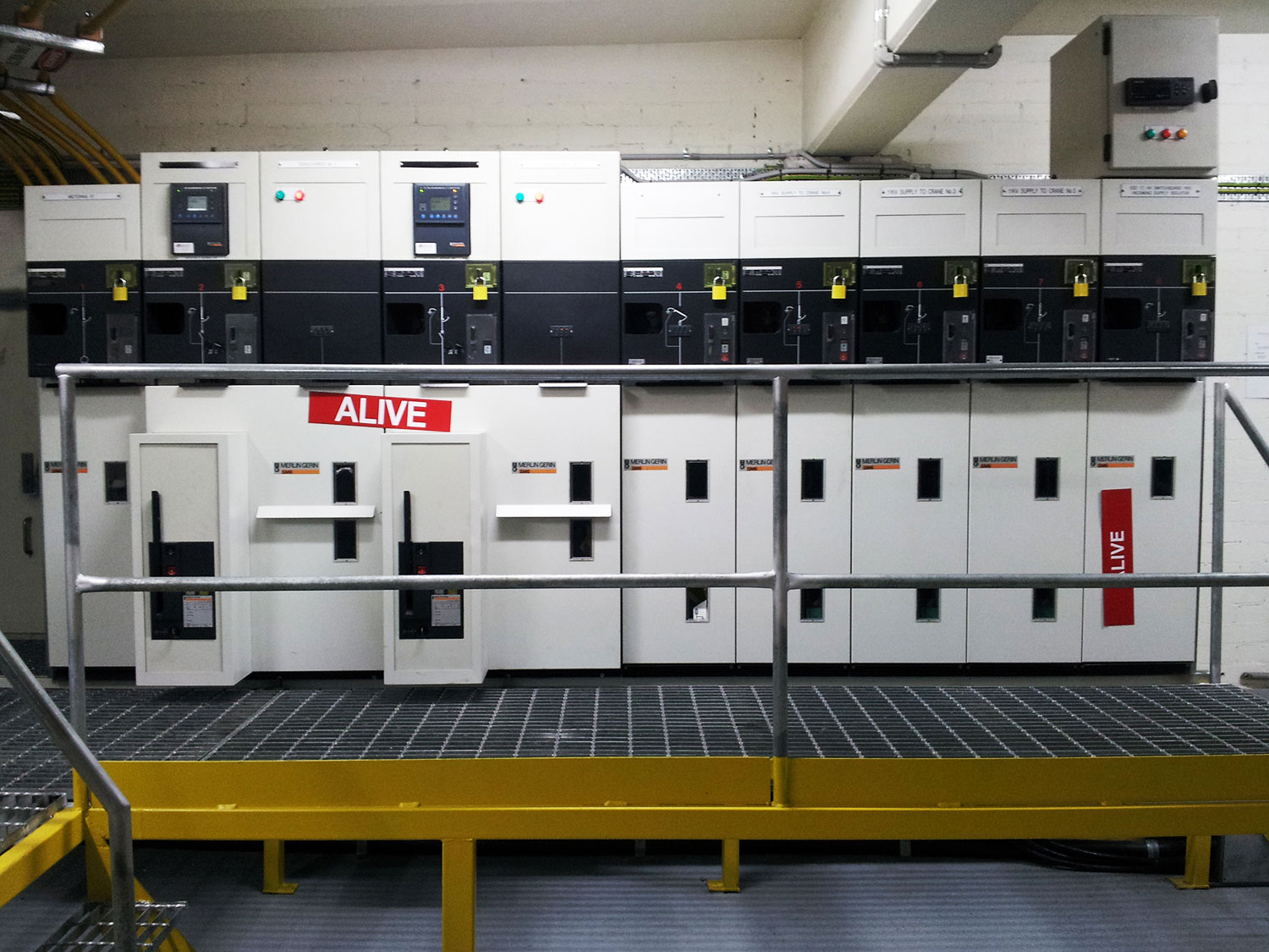 11kV switchgear installation - ESD