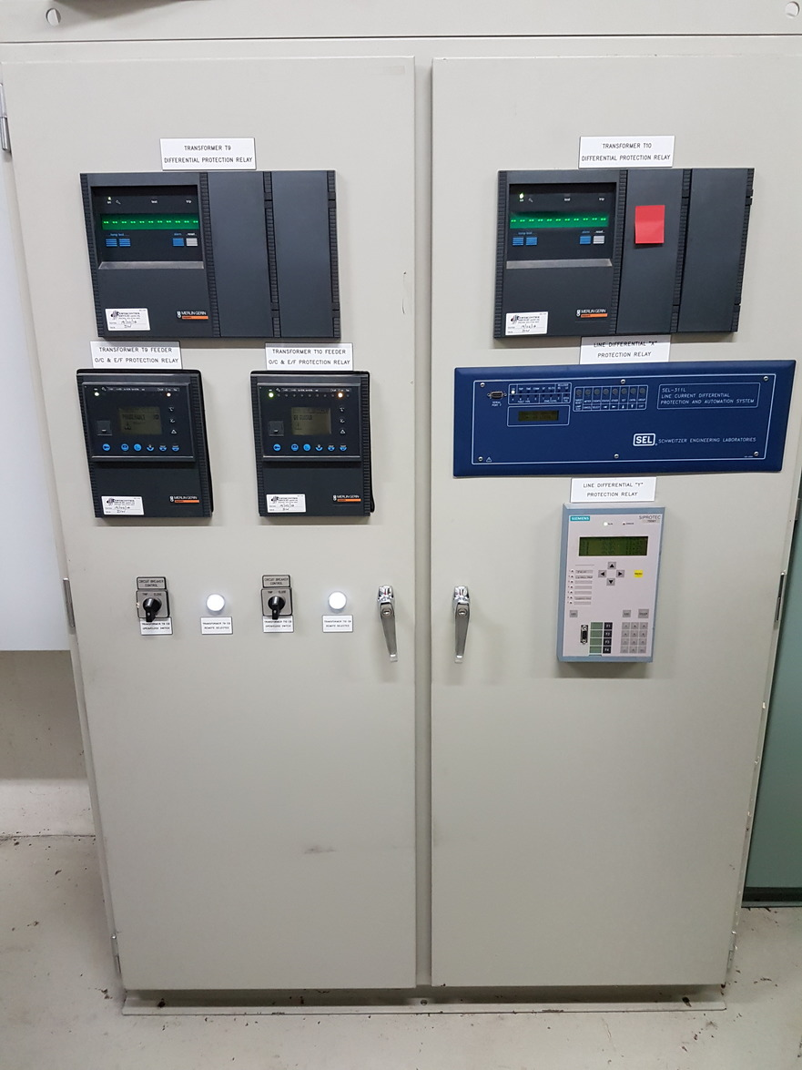 66kV protection relays