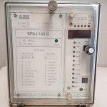 ABB SPAJ 140C - Uaux 18-80VDC