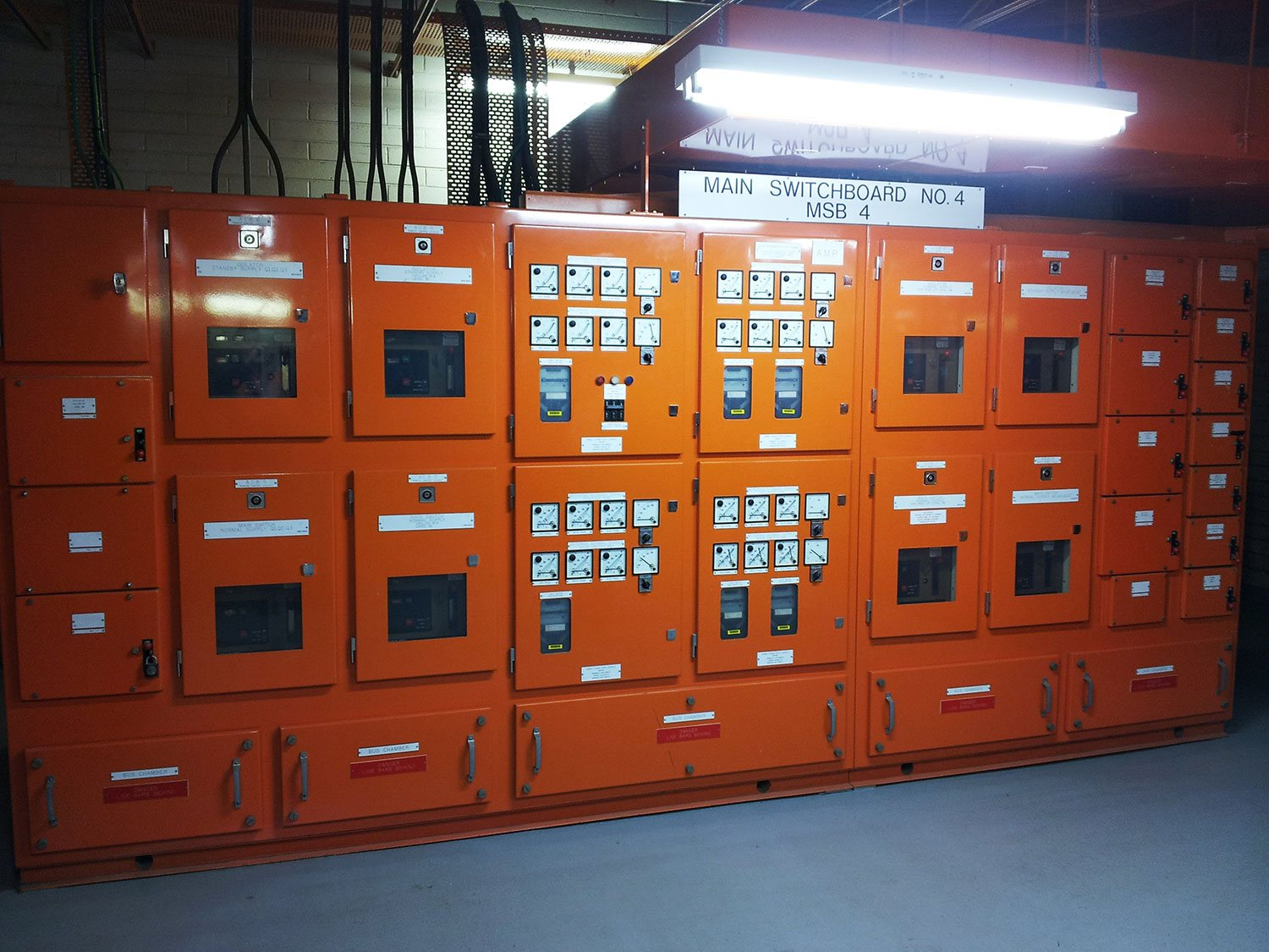 Low voltage switchboard maintenance